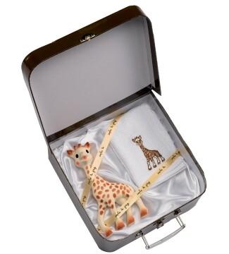 Sophie-giraf-bidedyr-kuffert