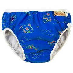 badebukser-baby-imsevimse-moerkeblaa-fisk