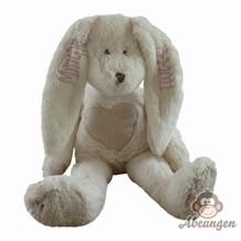 bamse-med-navn-og-foedselsdato-kanin-hvid