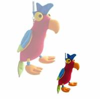 barnevognsrangle-fjeder-papegoeje