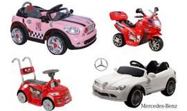 Elektrisk bil til børn
