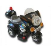 elektrisk-bil-til-boern-motorcykel-politi