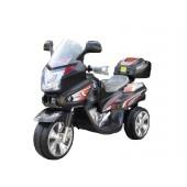 elektrisk-bil-til-boern-motorcykel-sort