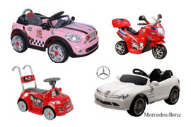 Udendørs legetøj til børn - el-biler
