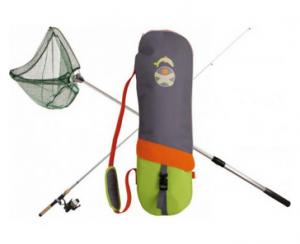 Fiskestang til børn med net og kroge