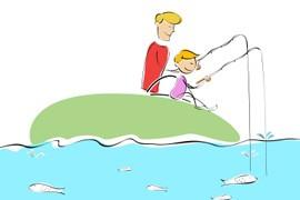 Fiskestang til børn
