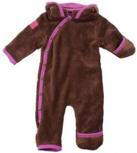fleecedragt-baby-katvig-brun-pink