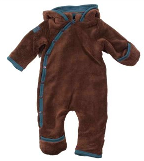 fleecedragt-baby-katvig-brun