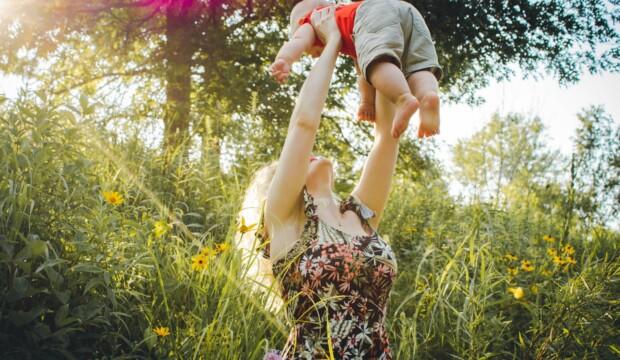 Glad mor