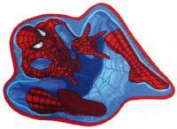 gulvtaeppe-boernevaerelset-spiderman-figur