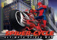 gulvtaeppe-boernevaerelset-spiderman-mototcykel