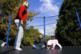 Den rette trampolin til børnene