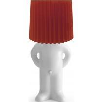lampe-med-tissemand-hvid-roed