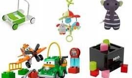 Legetøj med fri fragt