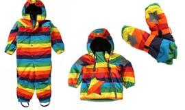 Molo regnbue flyverdragt og jakke