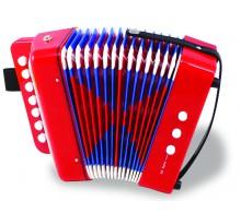 musikinstrumenter-til-boern-harmonika-blaa