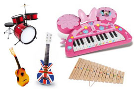 musikinstrumenter-til-boern