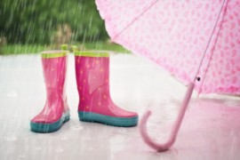 Skab magi i regnen med skønne paraplyer til børn