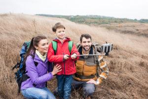 Selfie med børn