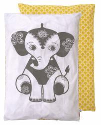 sengetoej-baby-roommate-elefant-gul