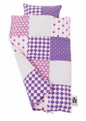 sengetoej-baby-sebra-patchwork-lilla