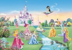 tapet-boernevaerelset-disneys-prinsesser