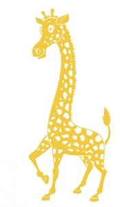 wallsticker-boernevaerelse-giraf