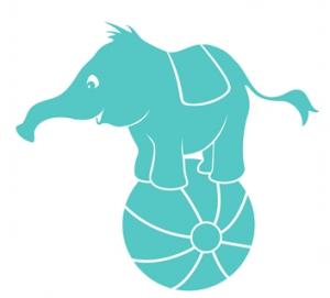 wallstickers-boernevaerelse-elefant