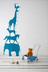 wallstickers-boernevaerelset-dyr