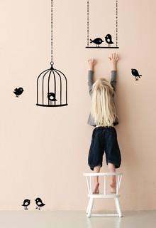 wallstickers-boernevaerelset-fugle