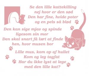 wallstickers-boernevaerelset-kattekilling-sang