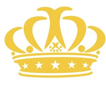 wallstickers-boernevaerelset-krone