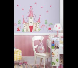 wallstickers-boernevaerelset-prinsesser