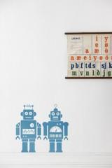 wallstickers-boernevaerelset-robot