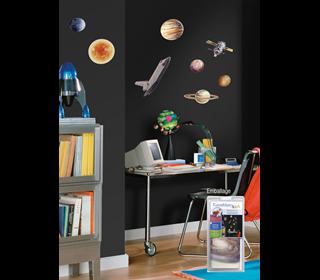 wallstickers-boernevaerelset-space