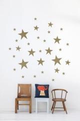 wallstickers-boernevaerelset-stjerner