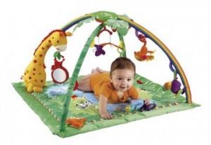 Populære Legetæppe til baby - aktivitetstæppe og legegulvtæppe til baby IS-96